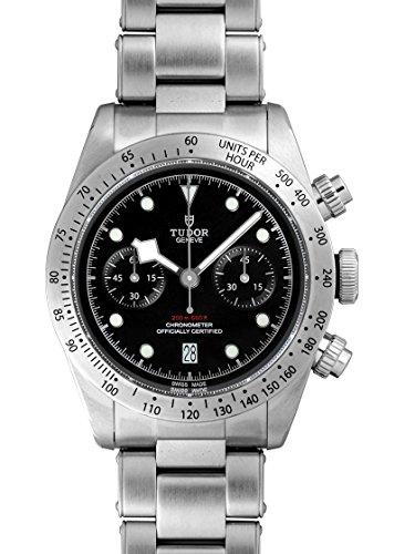 [チューダー] TUDOR 腕時計 79350 チュードル ヘリテージ ブラックベイ クロノ SSブレス 自動巻き ブラック...