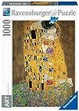 Ravensburger- Klimt: El Beso Obras de Arte Rompecabeza de 1000 Piezas, Multicolor (15743 3)