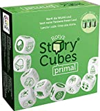 Asmodee Italia, Rory's Story Cubes Primal (Verde), Gioco di Dadi per Creare Storie, Edizione in Italiano, 8080