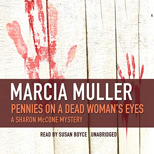 Pennies on a Dead Woman's Eyes audiobook cover art