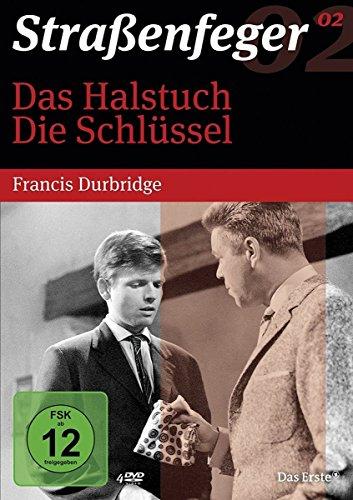 Straßenfeger 02 : Das Halstuch / Die Schlüssel (Francis Durbridge) [4 DVDs]