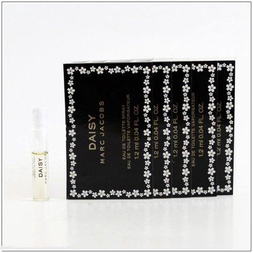 Lot Of 5 Marc Jacobs Daisy Eau de Toilette Spray for Women, Vial, Mini,0.04 Ounce (5 Packs)