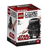 LEGO- Brickheadz Darth Vader Costruzioni Piccole Gioco Bambina Giocattolo, Multicolore, 5702016176605