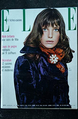 ELLE 1246 3 NOVEMBRE 1969 COVER JANE BIRKIN RITA HAYWORTH EVELYNE DHELIAT