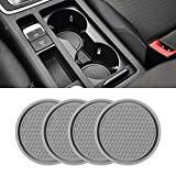 Car Cup Holder Coaster, 4 Pack 2.75 Inch Diameter...