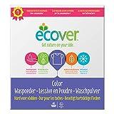 Ecover Color Waschpulver Konzentrat Lavendel (3 kg / 40 Waschladungen), Colorwaschmittel mit...