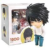 HAOBU Figuras Anime 10 cm Death Note Anime Figure L Lawliet Figure PVC Model Gifts