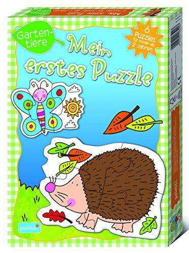 paletti Mein erstes Puzzle Gartentiere Kinder Lernspiel