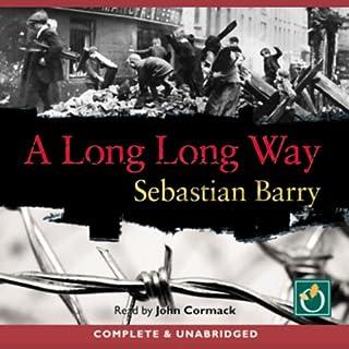 A Long Long Way audiobook cover art