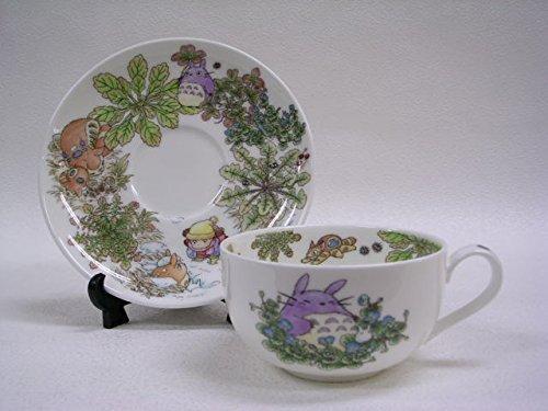 NORITAKE Studio Ghibli My Neighbor Totoro Bone China Porcelain Tea Cup with Saucer T97285A/4660-1