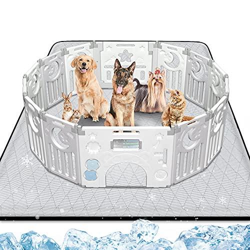 Gimars Heavy Absorbency Non-Slip Washable Waterproof Dog Mat, Reusable 65
