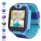 Kids Smartwatch with Two-Way Call SOS Games Camera...