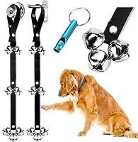 [ブルートリー]BLUETREE 犬用トレーニングベル 2個入り プレミアム品質 調整可能なドアのベル トイレのトレーニング用の犬のベル [並行輸入]