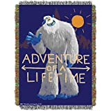 Smallfoot Adventure of a Lifetime Migo Woven Tapestry Throw Blanket
