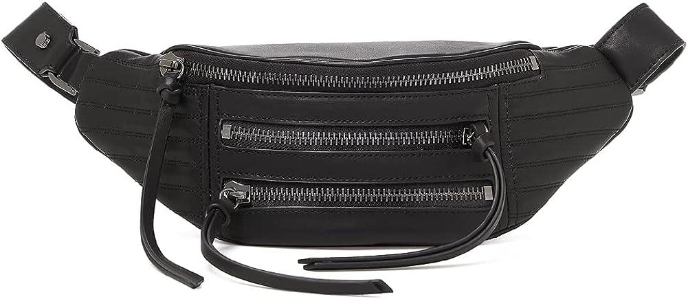 即納最大半額 春の新作続々 Botkier Woman's Leather Moto Black Belt Bag