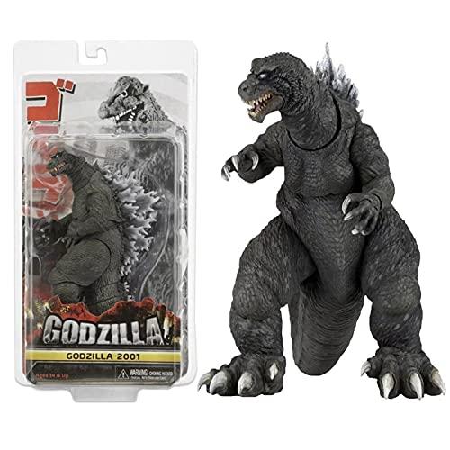 18 Cm Godzilla Action Figure Bandai 2001 Versione Di 7 Pollici Godzilla Modello Da Collezione Giocattoli Per Bambini Decorazione Regalo Collezione