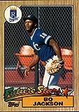 1987 Topps #170 Bo Jackson RC Kansas City Royals Rookie Card - NM-MT
