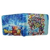 Dragon Ball Super Cartoon Wallet Boys and Girls Cartera Corta Tarjetero y Monedero 113