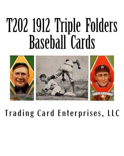 T202 1912 Triple Folders Baseball  Cards