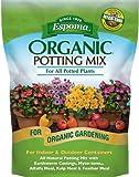 Espoma 16-Quart Organic Potting Mix, Pack of 1