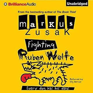 Fighting Ruben Wolfe audiobook cover art