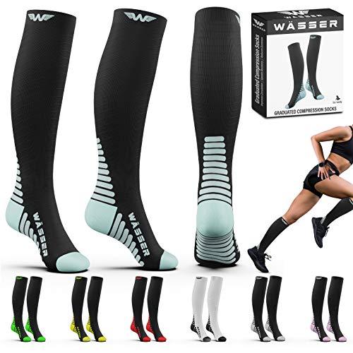 Compression Socks for Nurses Men amp Women  Fitness Travel Pregnancy Circulation