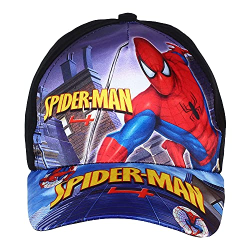 Azotiquee Digital Cartoon Baseball Cap for Boys (2 to 8 Years) Red