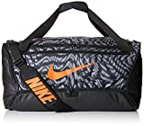 Nike Adult Unisex_Duffel Grip Drum_NK BRSLA M DUFF - PRJCT X_Black/Smoke Grey/Team Orange_CW9058-010_MISC