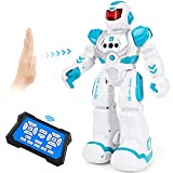 Auney Robot Toys for Kids, Smart Programmable Remote Control Robots, Infrared Sensing RC