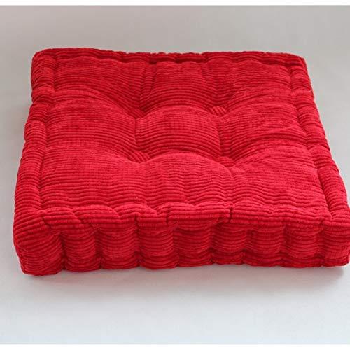 TPJJ No-Slip Breathable Back Cushion Set,Almohadilla De Silla Gruesa Cuadrada,Garden Outdoor Seat Pad E 45x45cm (18x18inch)