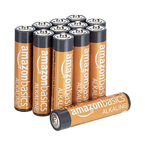 AmazonBasics - Pilas alcalinas AAA 'Performance' (Paquete de 12) - Diseño variable