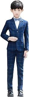 子供 スーツ 西洋式 チェック柄 男の子 入学式 フォーマル 紳士服 ジャケット ベスト ズボン 三点セット 子供服 スーツ 入学式 卒業式 七五三 結婚式 発表会