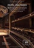 PAPEL PAUTADO: 24 pentagramas por página, papel de música para orquesta, 300 páginas tamaño A4