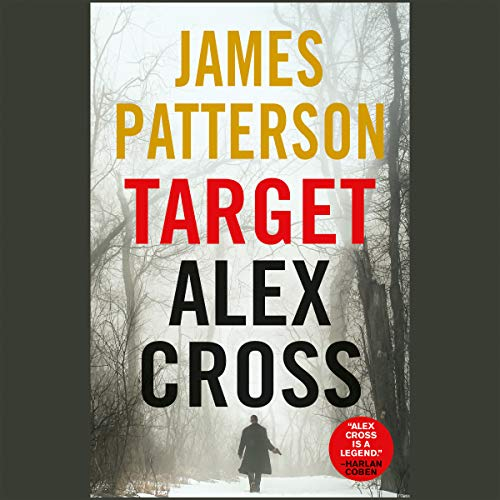 Target: Alex Cross audiobook cover art