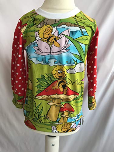 Pullover Biene Maja grün 80