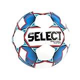 Select Mini Soccer Skills Ball, White/Blue, Size 1