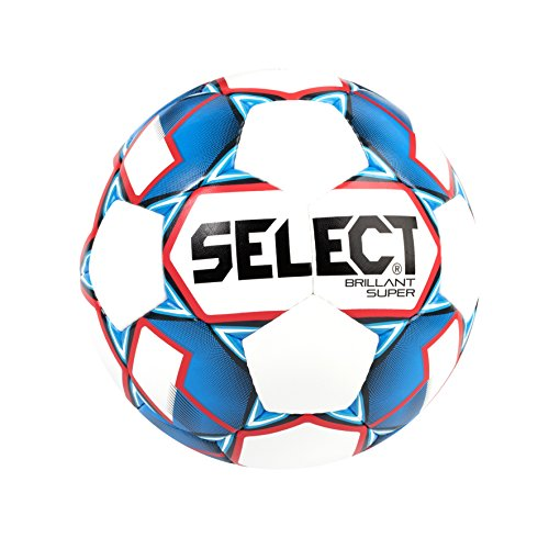 Select Mini Soccer Skills Ball, White/Blue, Size 1