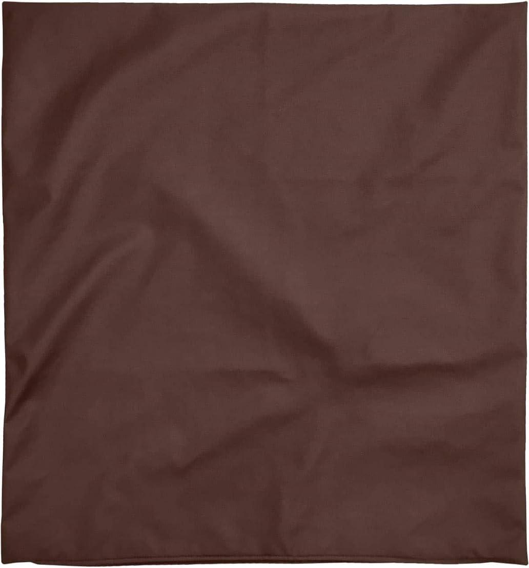 暴徒複製する機械的に座布団カバー 約59×63cm 八端判 R-24 PU合皮 ポリウレタン合成皮革 フェイクレザー ブラウン 日本製