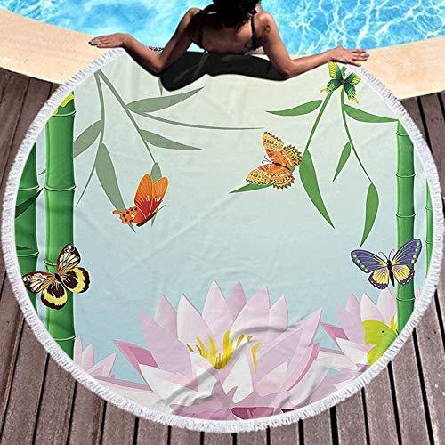 Baño Textiles de baño Toallas Toallas de playa Round Beach