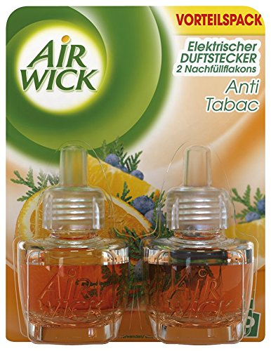Air Wick Duftstecker Anti-Tabak Duo, 5er Pack (5 x 2 Stück)