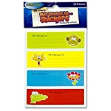Premier Stationery 20-Piece 'Clever Kidz This Belongs to….' Stickers