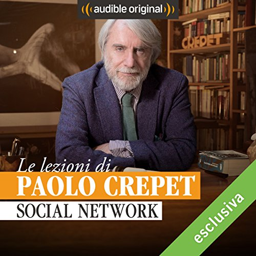 Social network audiobook cover art