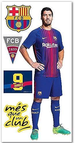 FC Barcelona - Suarez jumbo wall sticker textile