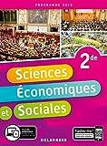 Sciences economiques et sociales 2de 2019 - Pochette eleve