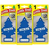 LITTLE TREES LTZ002 Deodorante per Auto, Set di 3