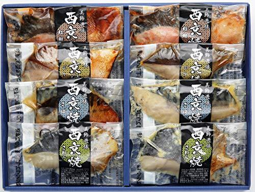 丸市食品 西京焼詰合せ レンジで簡単 [ 冷凍食品 ] 紅鮭 ぶり さば さわら 食べ比べセット