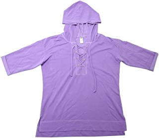 green tea lace up hoodie