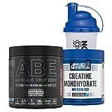 Applied Nutrition Bundle ABE Pre Workout 315g + Creatine Monohydrate 250g + 700ml