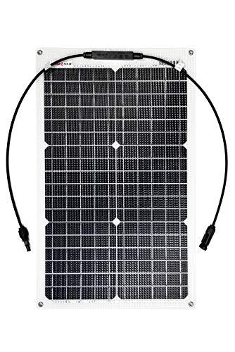 Enjoysolar ETFE Panneau solaire semi-flexible avec cellules PERC 30 W
