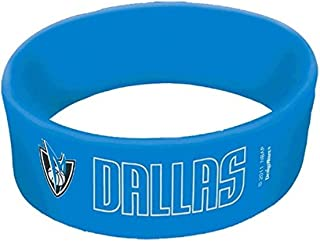 """Sports and Tailgating NBA Party Rubber Cuff Band Favours, Rubber, 4"""" x 1"""", Pack of 6"""